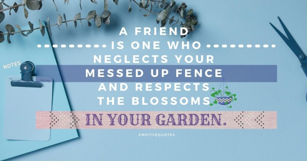 Best-friendship-quotes-a-friend-is-one-who-neglects-your-messed-up-fence-and-respects-the-blossoms-in-your-garden.