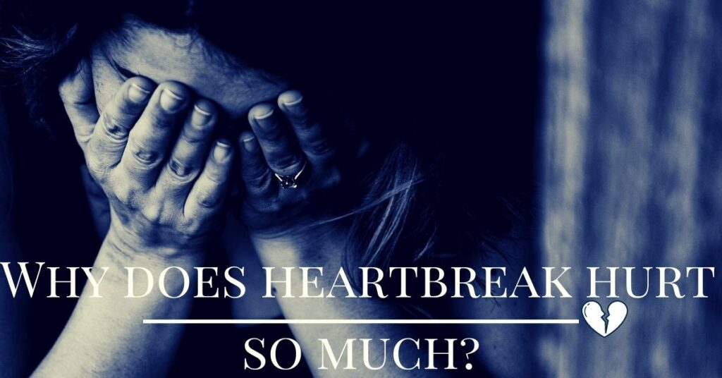 Why does heartbreak hurts so much